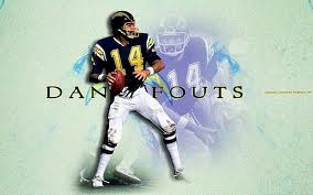 Wallpaper featuring Dan Fouts, Quarterback of the San Diego Chargedr from 1973-1987